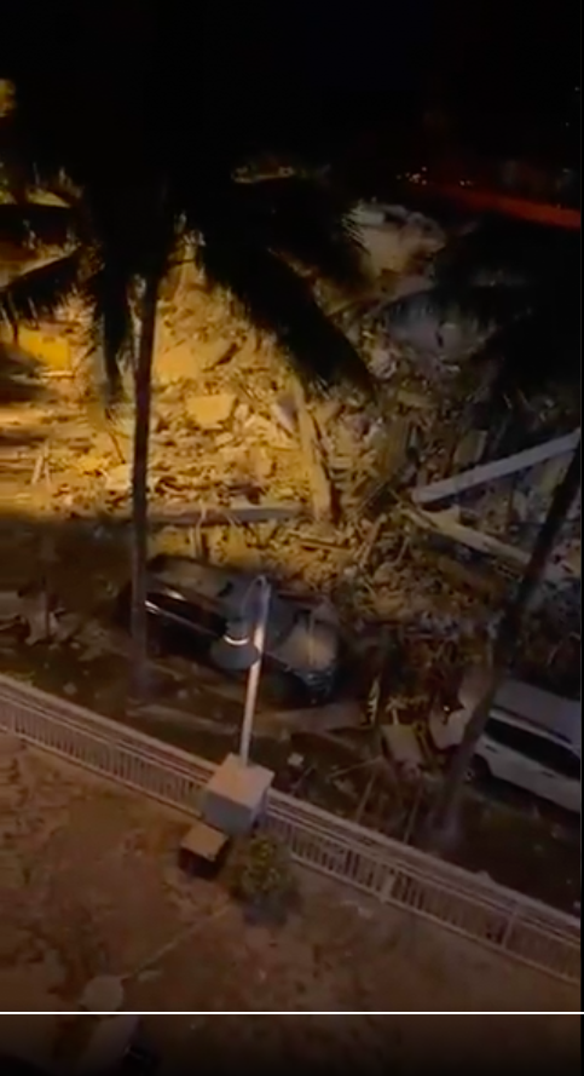Rescue operation underway after building collapses in Florida - follow live