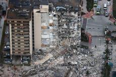 Desabamento de edifício em Miami: Police say 99 people still unaccounted for in Florida