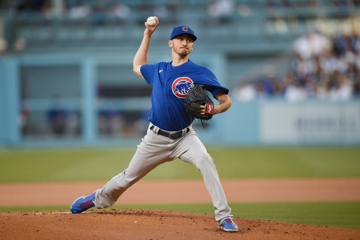 No-hitter No. 7: Cubs blank Dodgers, tie MLB's season record