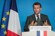 Macron: EU needs to fight 'illiberal values' inside bloc