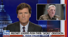 Tucker Carlson lashes out at top US military leader Mark Milley: 'He's not just a pig, he's stupid'