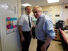 I find Boris Johnson's support for Matt Hancock deeply troubling