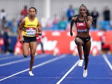 Dina Asher-Smith sets the pace in Manchester