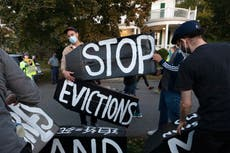 California to extend eviction ban, pay back rent for tenants