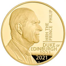 New £5 coin launched to commemorate Duke of Edinburgh