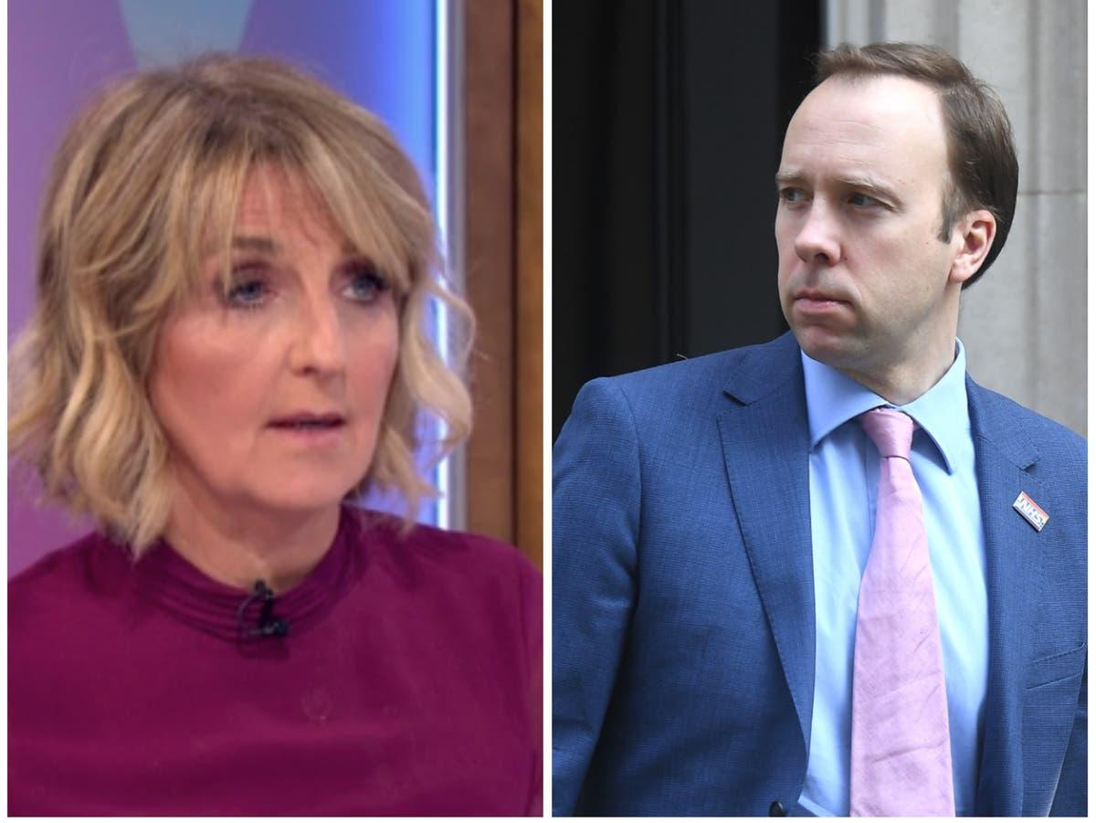 Loose Women react to Matt Hancock scandal