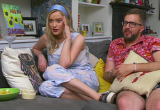 Celebrity Gogglebox: Laura Whitmore and Iain Sterling outraged by man's First Date behaviour