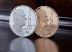 Prince Philip honored on special British 5-pound coin