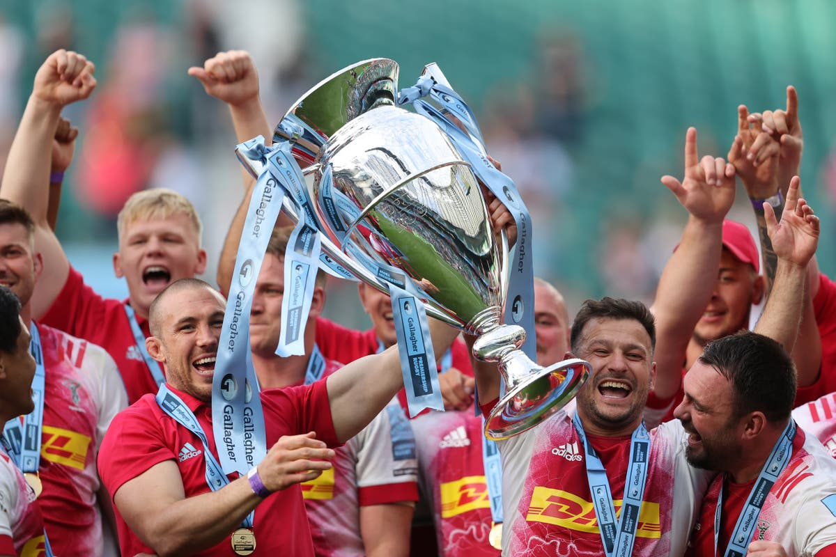 Harlequins beat Exeter in thriller to clinch Premiership title