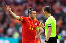 Wales captain Gareth Bale frustrated by 'disappointing' defeat to Denmark