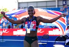 Dina Asher-Smith unfazed by her Olympic rivals after winning British 100m title