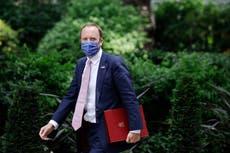 Matt Hancock quits as health secretary after admitting breaking Covid rules