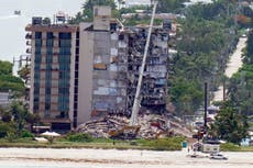 OLD Miami building collapse – latest: Death toll rises to 11 as search goes on for survivors