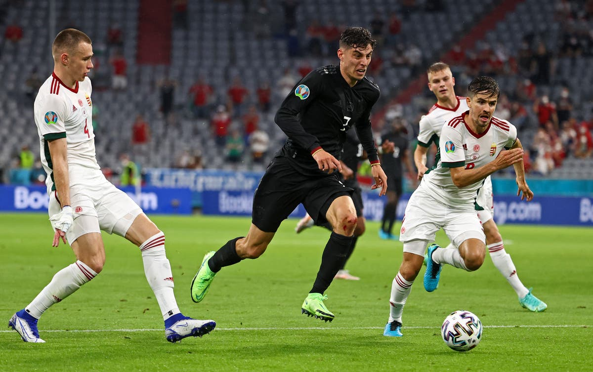 Kai Havertz looks forward to Wembley duel – and would not shirk penalty duty