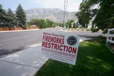 Drought woes in dry US West raise July 4 fireworks fears
