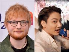 'Nunca estive tão animado': BTS and Ed Sheeran fans celebrate news of collaboration on next record