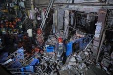 Politiet: I det minste 7 dead in Bangladesh blast; cause unknown