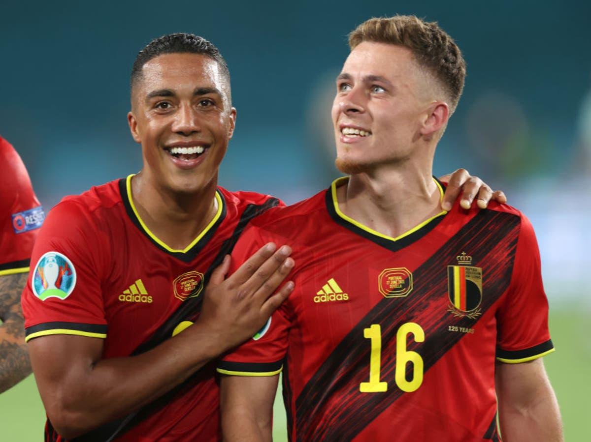 Thorgan Hazard's streak of light clears path for Belgium's golden generation