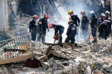 Rescuers stay hopeful about finding more survivors in rubble