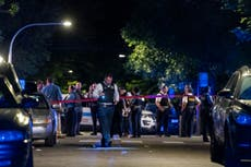 1 dead, 13 wounded in two shootings in Chicago