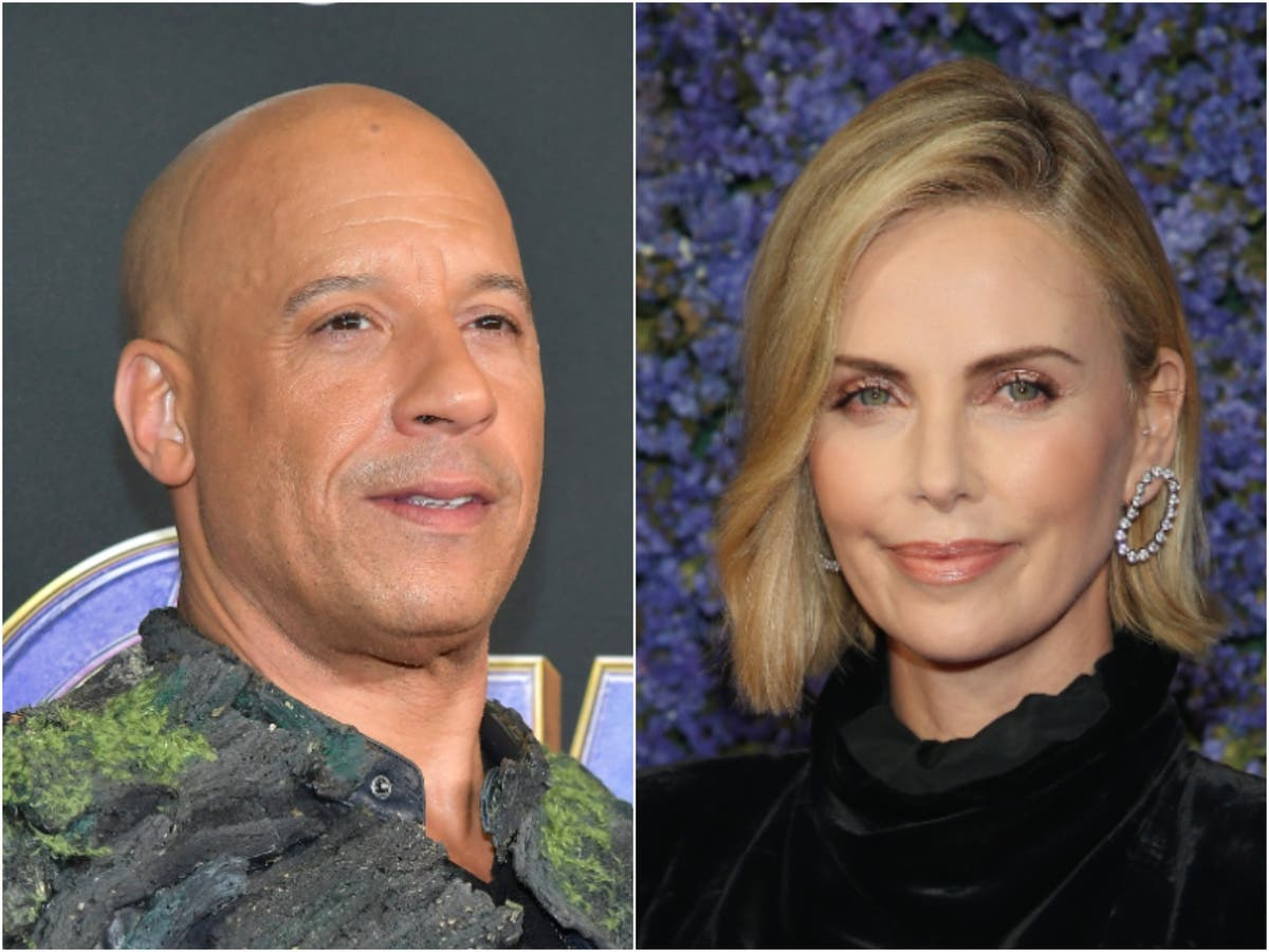 Vin Diesel and Charlize Theon react as Fast and Furious 9 breaks pandemic box office record