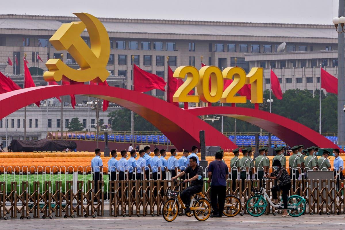 Marking centenary, China heralds Communist Party's influence