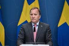 Swedish PM asks parliament speaker to find a new government