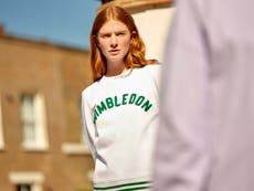 Wimbledon host launches sustainable leisurewear made from plastic bottles