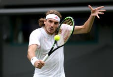 Another first-round exit at Wimbledon for Stefanos Tsitsipas