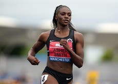 Dina Asher-Smith relishing fight as she prepares for Olympics
