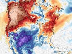 将来の気候災害のプレビューで、ミレニアムヒートドームが米国とカナダに宿る
