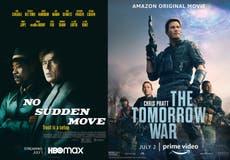 Novidade esta semana: 'No Sudden Move' e 'The Tomorrow War'