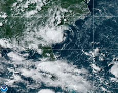Tropical Storm Danny makes South Carolina coastal landfall
