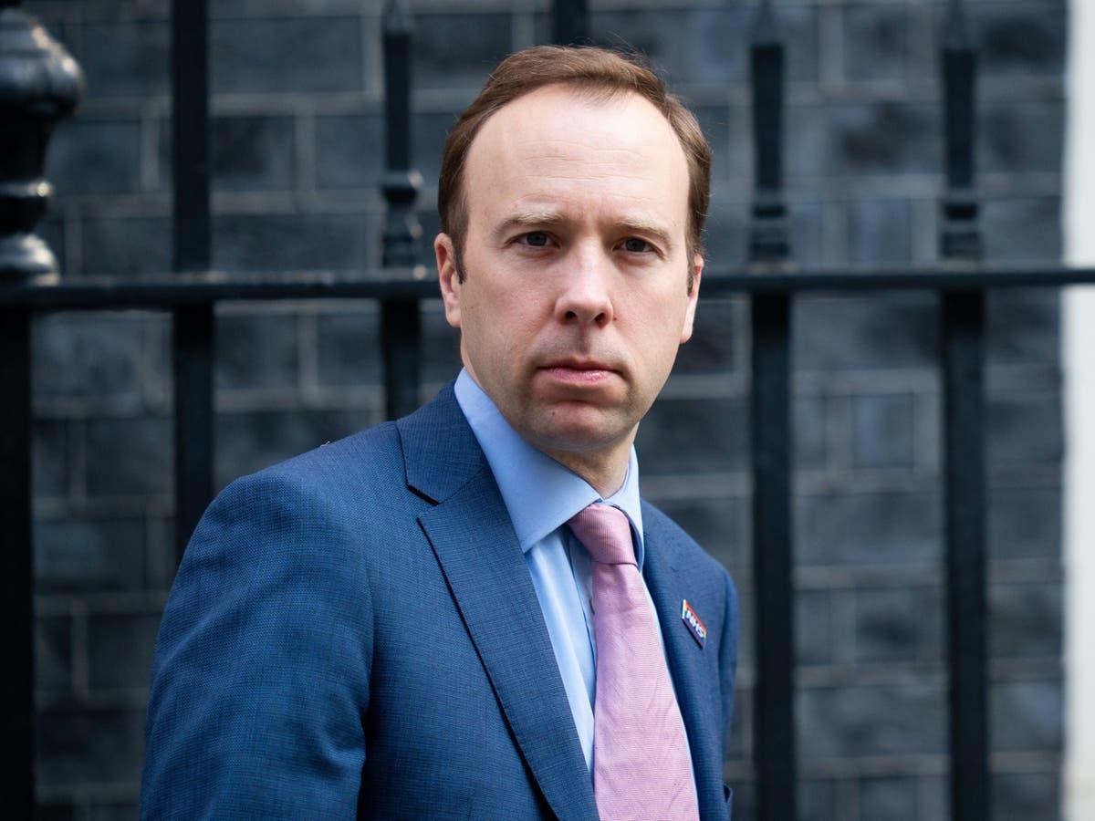Matt Hancock facing calls to quit as MP in local Tory revolt