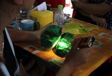 Myanmar junta gains hold on jade profits as fighting flares