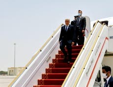 Israel's foreign minister makes 'historic'  first state visit to UAE