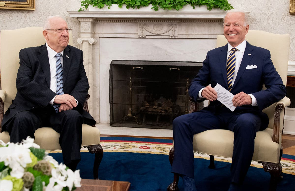 Biden says Iran will 'never' get a nuclear weapon on his watch