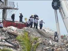 Fire rescue radio call released from Florida building collapse: 'It almost resembles the Trade Center'