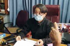 Myanmar court denies bid by Suu Kyi to disqualify testimony