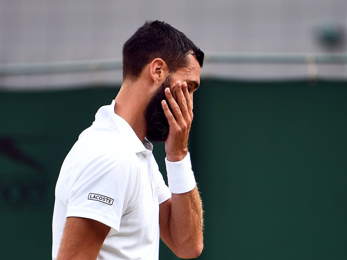 Benoit Paire receives code violation for lack of effort in Wimbledon defeat