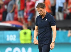 Holland head coach Frank De Boer stands down after a disappointing Euro 2020