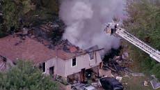 3 injured in explosion, fire at suburban Kansas City duplex