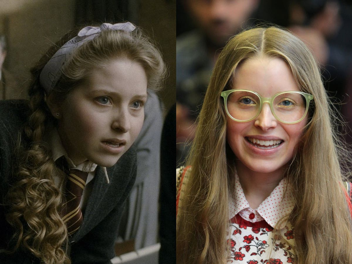 Harry Potter star Jessie Cave was 'treated like a different species' after gaining weight between films