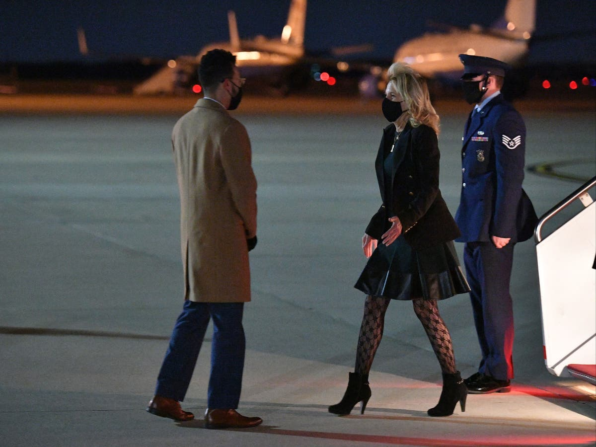 Jill Biden addresses controversy over her 'fishnet' tights in Vogue interview