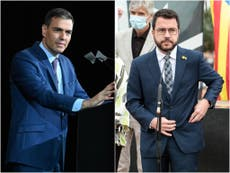 Spanish PM, Catalan separatist leader meet to relaunch talks