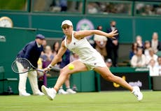 Top seed Ashleigh Barty made to work hard before defeating Carla Suarez Navarro