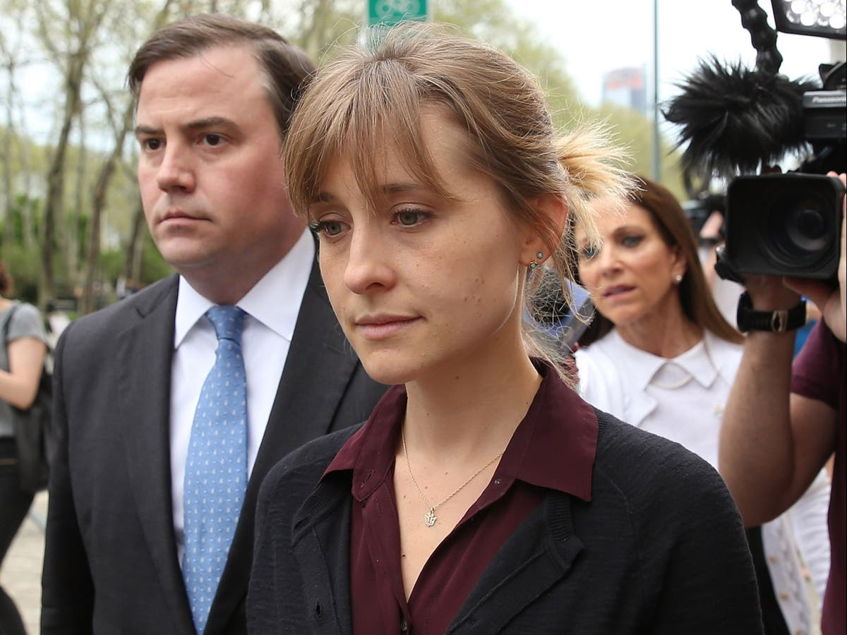 From Smallville star to criminal sex cult 'master': How Allison Mack became embroiled in NXIVM