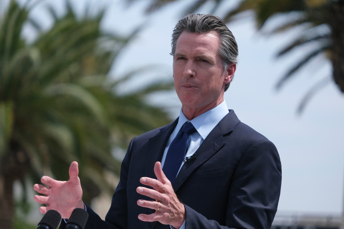 California governor sues to get party ID on recall ballot