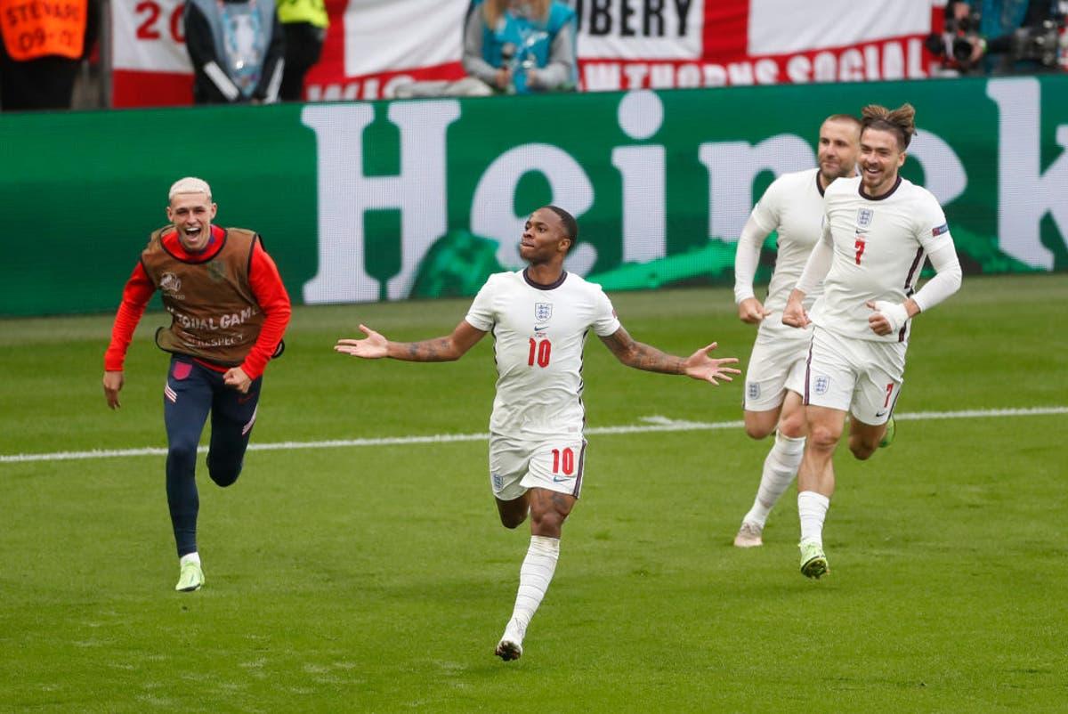 England vs Germany player ratings: Raheem Sterling shines again as Three Lions progress at Euro 2020