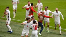 Who do England play next in Euro 2020 quarter-final on Saturday?